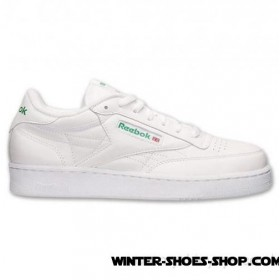 Discounts US Men's Reebok Club C Wide Casual Shoes White Outlet