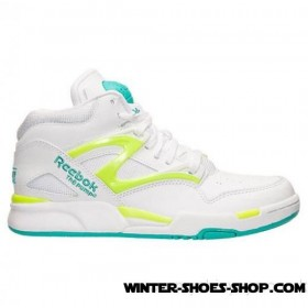 Fire Sale US Men's Reebok Pump Omni Lite Basketball Shoes Timeless Teal/White/Silver Up To 78% Off