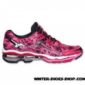 Hot Sale US Women's Mizuno Wave Creation 15 Running Shoes Jazzy/White/Shocking Pink Outlet Store