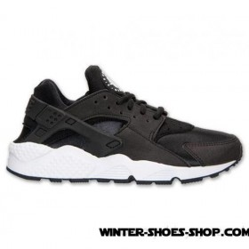 Assurance Authenticity US Women's Nike Air Huarache Run Running Shoes Black/White Outlet Sale