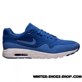 Unique Style US Women's Nike Air Max 1 Ultra Moire Running Shoes Game Royal/Game Royal/White Wholesaler