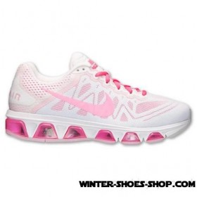 Lower Prices US Women's Nike Air Max Tailwind 7 Running Shoes White/Hyper Pink/White No Taxes