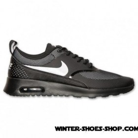 Tendy Style US Women's Nike Air Max Thea Running Shoes Black/White Sale Cheap