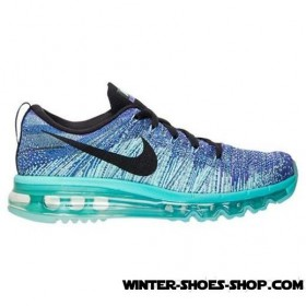 Special Style US Women's Nike Flyknit Air Max Running Shoes Hyper Grape/Black/Hyper Turquoise Outlet
