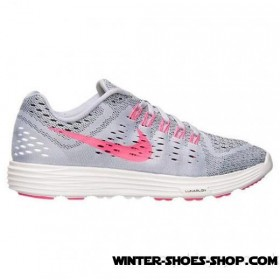 Delicate Design US Women's Nike Lunartempo Running Shoes Titanium/Pink Pow/Black Cheap Sale