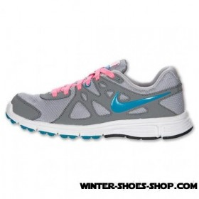 Half Off US Women's Nike Revolution 2 Running Shoes Wolf Grey/Cool Grey/Digital Pink Cheap Sale