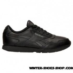 Outlet Sale US Women's Reebok Royal Glide Wide Casual Shoes Black Us Sale