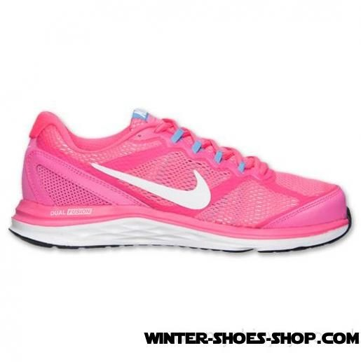 Sells Cheap US Women's Nike Dual Fusion Run 3 Running Shoes Hyper Pink/White/University Blue Outlet Factory Shop - Sells Cheap US Women's Nike Dual Fusion Run 3 Running Shoes Hyper Pink/White/University Blue Outlet Factory Shop-01-0