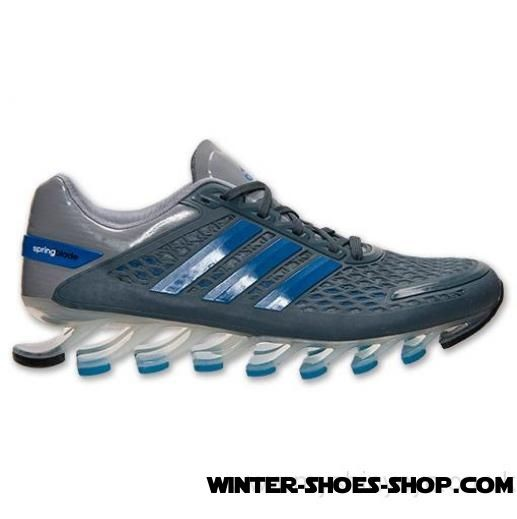 Latest And Hottest US Men's Adidas Springblade Razor Running Shoes Metallic Silver/Solar Blue/Tech Grey Outlet Online Sale - Latest And Hottest US Men's Adidas Springblade Razor Running Shoes Metallic Silver/Solar Blue/Tech Grey Outlet Online Sale-31