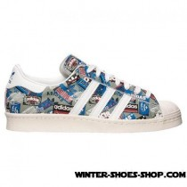 Opening Sales US Men's Adidas Superstar Pioneers Nigo Casual Shoes White/Grey Outlet-20