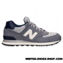 Tendy Style US Men's New Balance 574 Pennant Casual Shoes Grey/White Outlet Us Online-20