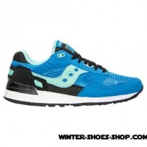 Typical Style US Men's Saucony Shadow 5000 Casual Shoes Bright Blue/Black Outlet-20