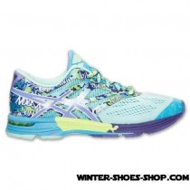 Original Model US Women's Asics Gelnoosa Tri 10 Running Shoes Mint/Lavender/Turquoise Online-20