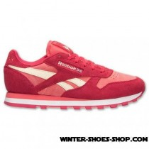 2017 Sales US Women's Reebok Cl Leather Seasonal Casual Shoes Pink Online Store-20