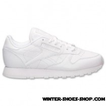Promotion US Women's Reebok Classic Leather Casual Shoes White Sale Outlet Store-20