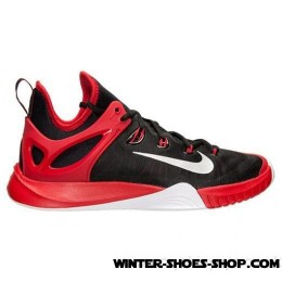 Explosion Models US Men's Nike Zoom Hyperrev 2017 Basketball Shoes Black/Pure Platinum/University Red Outlet-20