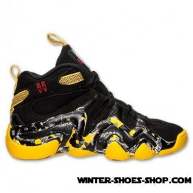 The Latest Fashion US Men's Adidas Crazy 8 Basketball Shoes Black/Black/Red Outlet Online
