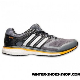 Best Quality US Men's Adidas Supernova Glide 6 Boost Running Shoes Grey/White/Solid Gold Sales Promotion