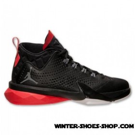 Glamor Model US Men's Jordan Flight Time 14.5 Basketball Shoes Black/Cool Grey/Infrared 23 No Taxes