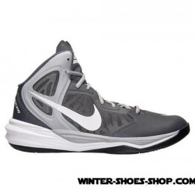 New Product US Men's Nike Prime Hype Df Basketball Shoes Dark Grey/White/Wolf Grey/Black Outlet