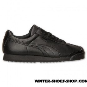 Lower Prices US Men's Puma Roma Casual Shoes Black Best Deals