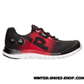 Hot Sale US Men's Reebok Zpump Fusion Running Shoes Black/Red Rush/White Outlet Us Online