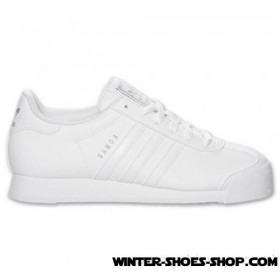 2017 New US Women's Adidas Samoa Casual Shoes White Sale Outlet