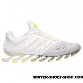 2017 New US Women's Adidas Springblade Drive 2.0 Running Shoes White/Metallic Silver Clearance Online