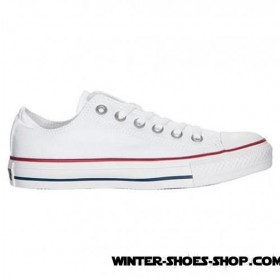 Hot Sell US Women's Converse Chuck Taylor Ox Casual Shoes Optical White Outlet Sale
