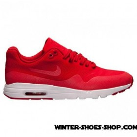Excellent US Women's Nike Air Max 1 Ultra Moire Running Shoes University Red/White Supplier