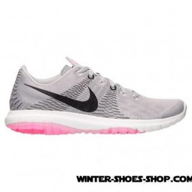 Product Promotion US Women's Nike Flex Fury Running Shoes Wolf Grey/Black/Space Pink Outlet